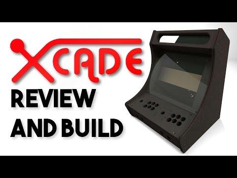 BARTOP ARCADE BUILD! - XCADE B19C Review and full build!
