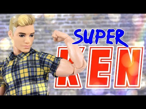 DIY - How to Make: SUPER KEN | Made to Move Custom Doll Craft