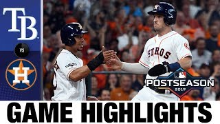 Justin Verlander, Jose Altuve power Astros to Game 1 win | Rays-Astros ALDS Game Highlights