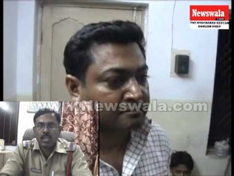 Kidnapped And Raped Girl Rescued By Santosh Nagar Police video