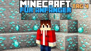 Wie findet man schnell Diamanten in Minecraft ?   Minecraft für Anfänger #4