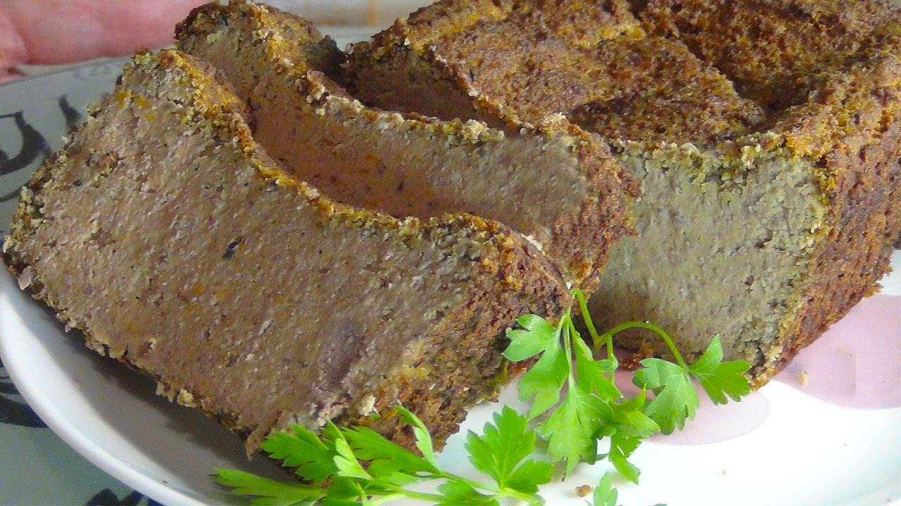 Рецепты печеночного паштета из свиной печени в домашних условиях 606