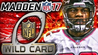 Madden 17 Franchise Mode NFC Playoffs Wild Card - Atlanta Falcons vs Seattle Seahawks