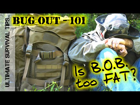 NEW! BUG OUT Basics - Is Your Bug Out Bag too FAT to Carry? Best Backpack Weight - Hunting /Camping