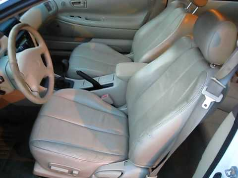 2000 Toyota Camry Solara SE V6 5 Speed Manual with Leather and Sunroof - YouTube