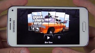 GTA San Andreas Samsung Galaxy S5 Mini 4K Gaming
