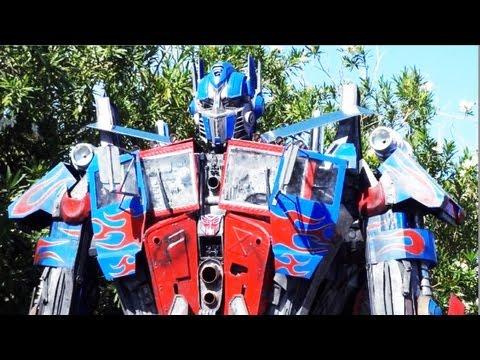 Real Life Optimus Prime Transformer