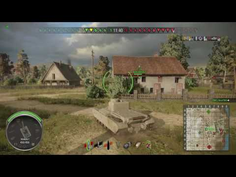 World of Tanks PS4 - AT2 Master 9 kills
