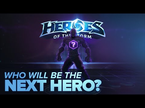 Heroes of the Storm - Who will be the Next Hero?