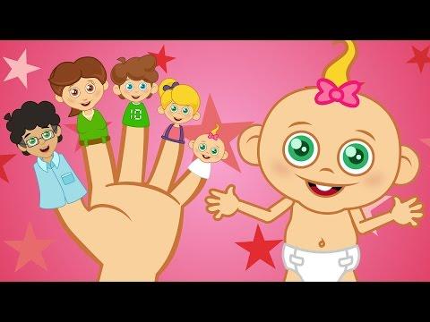 Parmak Ailesi | Sevimli Dostlar Çizgi Film Bebek Şarkıları | Yaygara TV Çocuk Şark