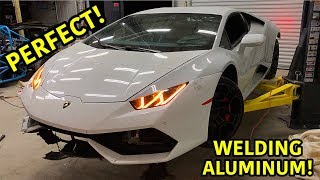 Rebuilding A Wrecked Lamborghini Huracan Part 10
