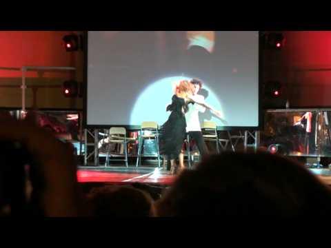 Daniele e Irene a Ballando con radio Pico con Natalia Titova e Samuel Peron – Tango
