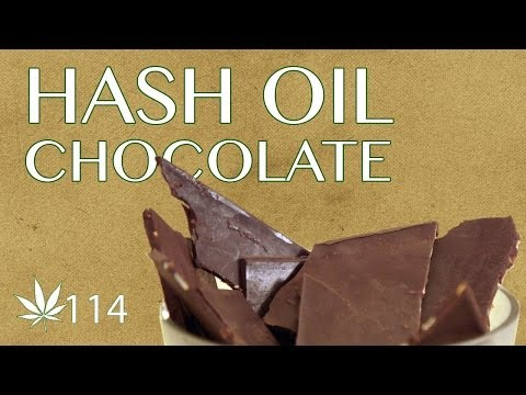Gourmet Hash Oil Chocolate Cooking with Marijuana #114