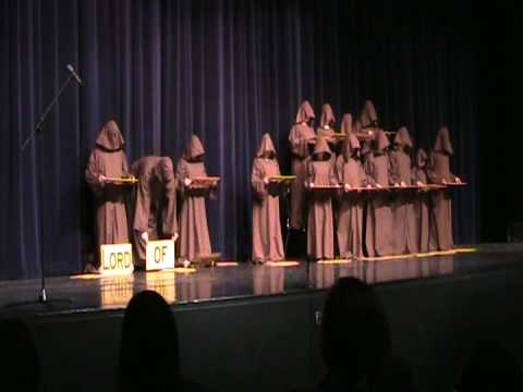 Silent Monks Singing Halleluia