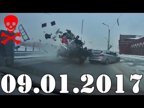 Подборка ДТП и Аварии январь 2017. Accidents Car Crash. #413