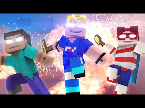 ♫ Wanted Men ♫ (Minecraft Original Music Video) - Minecraft Animation - FrediSaalAnimations