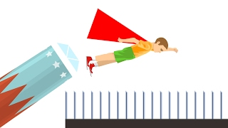 HOW FAR CAN A KID FLY? (Happy Wheels)