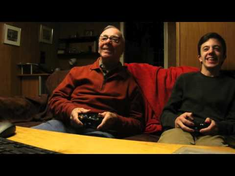 Our 84 year old Grandpa plays Videogames! 