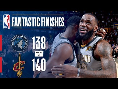 The Timberwolves and Cavaliers Go Down to the Final Seconds   February 07, 2018