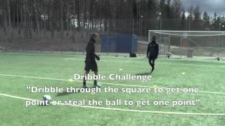 Technique Challenge with Lamine Nekrouf & Jordan Hibbert