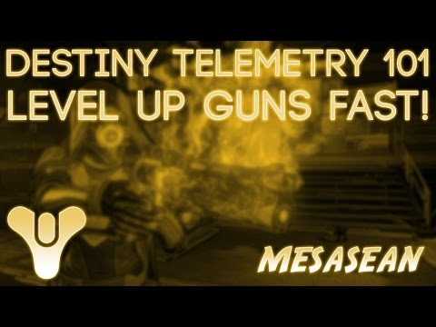 Telemetry 101 exotic weapon leveling bad juju can actually be good