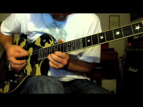 Christopher Amott Live Solo Arch Enemy Cover