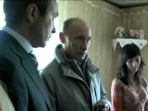 Владимир Путин посетил одно из общежитий в Петропавловске Камчатском