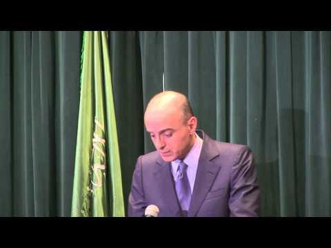 Saudi Ambassador Holds Press Conference on Operation Renewal of Hope