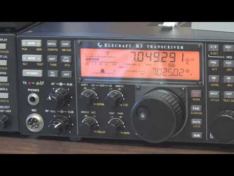 Elecraft K3 Transceiver & P3 Panadapter Overview