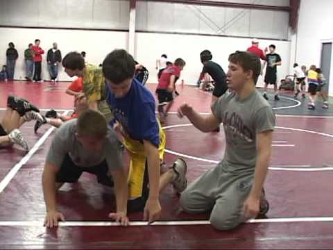Burnett Trained Wrestling...Dawgz give back!