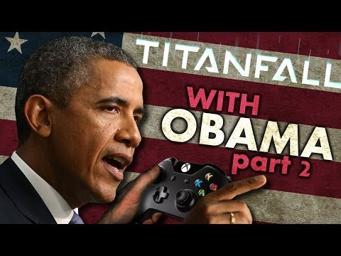 President Obama Plays More Titanfall