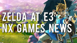 Zelda at E3 + Koei Tecmo Developing NX Game + Wii U is Dying