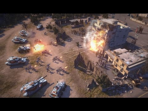 Command and Conquer - Racism, new shoes and free to play challenges - EA interview