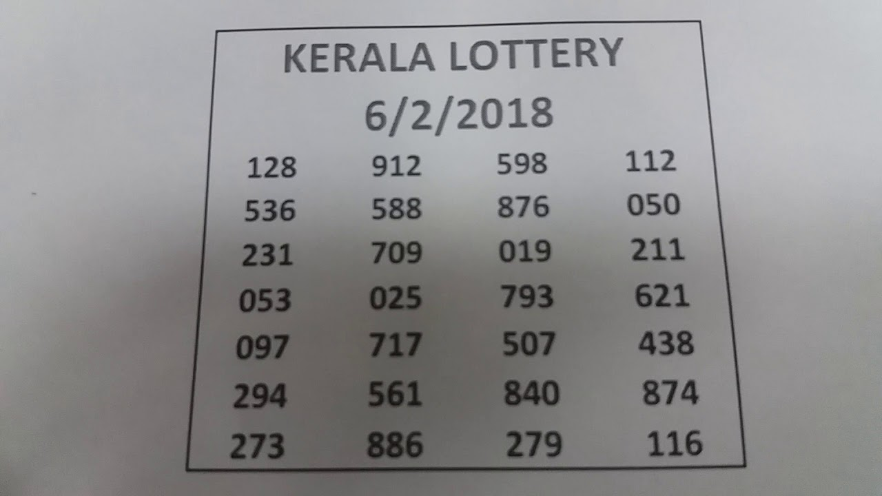 lucky kerala lottery