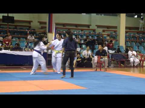 8th National Men's & Women's Open Kyokushin Karate Tournament Image 1