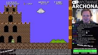 "Livestream: ""Wyzwanie Archona"": Super Mario Bros. 2 (JP) - cz. 1"