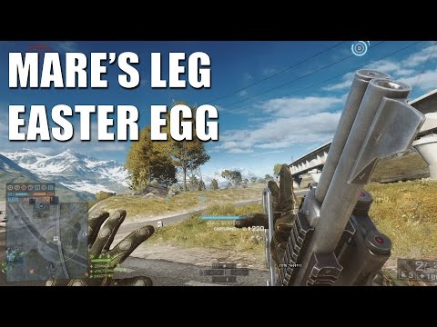 Battlefield 4 Mare's Leg Easter Egg - The Three Animations