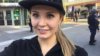 Lauren Southern Dresses Up As Antifa-SPLC Scum Pest In Berkeley
