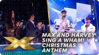 Max and Harvey sing a Wham! Christmas anthem | Final | X Factor: Celebrity