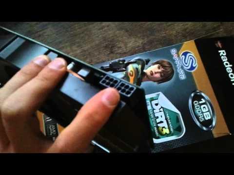 Sapphire Radeon HD 6870 - Unboxing