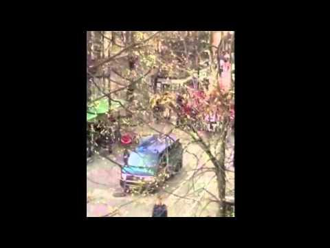 Skaitytojo video: Lietuvos ryto sirgaliai piktino kauniečius savo šūkiais