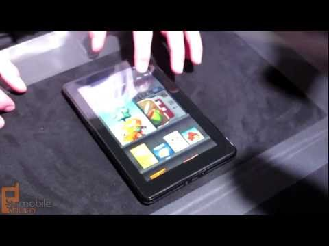 Amazon Kindle Fire tablet - live first look
