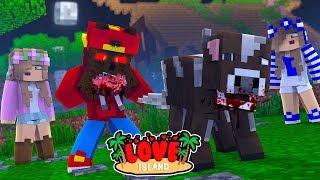 Minecraft LOVE ISLAND - LITTLE ROPO TURNS INTO A WEREWOLF!!