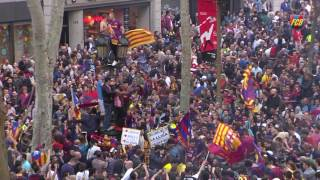 FC Barcelona's League Title celebration 15/16 (III): Canaletes