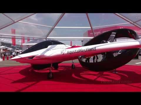 AgustaWestland Project Zero, styled by Bertone