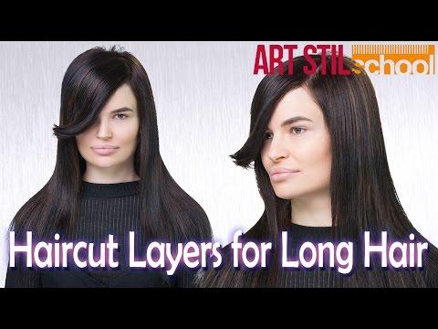 Haircut Layers  for Long Hair