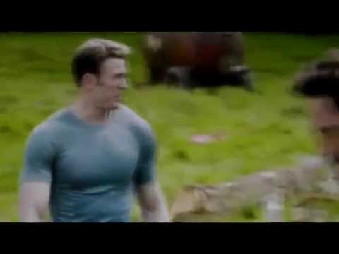 CAPTAIN AMERICA CIVIL WAR SCENE HD LEAKED FOOTAGE From Avengers: Age of Ultron Steve and Tony