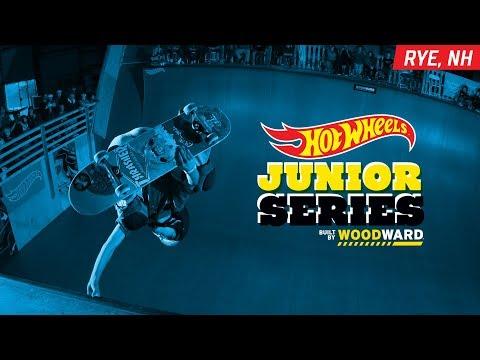 Rye NH Skate Highlights - Hot Wheels Junior Series