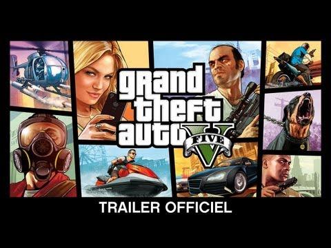 Grand Theft Auto V : Trailer Officiel