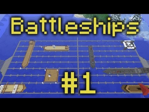 Minecraft Voltz Battleships Part 1 S.S. Poo Bucket